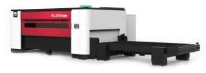 Red White Machine Used For Metal Laser Cutting Services