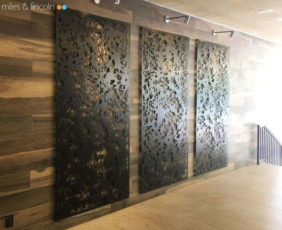Metallic Wall Paneling : Decorative metal screens germantown tool and manufacturing