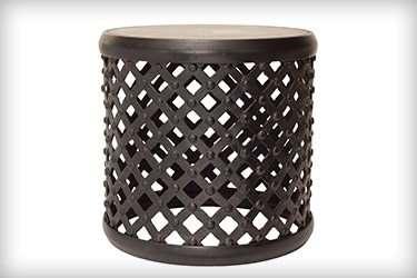 custom fabricated metal stool components