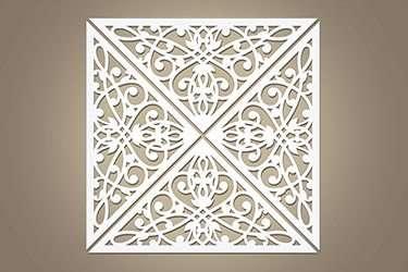 laser cut metal panels