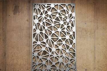 Decorative Metal Wall Panels on unique home design security doors