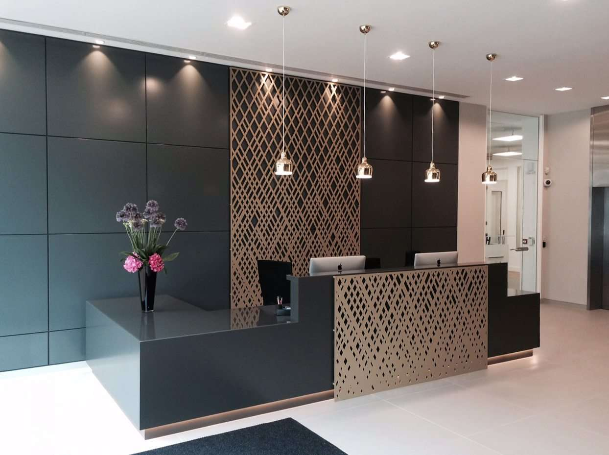 Laser Cut Architectural Panel